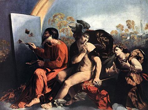 Jupiter, Mercure et la Vertu